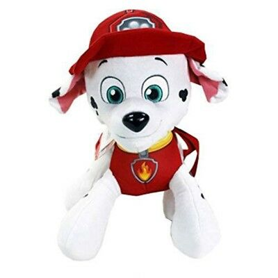 "Nickelodeon Paw Patrol 14"" Marshall Plush Backpack Stuffed Animal"