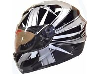 Brand New Ex Demonstration Stock liquidation Leopard Full Face Motorbike Motorcycle Bike Helmet