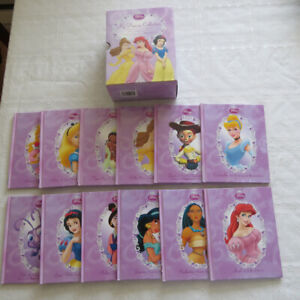 set of 12 hard cover  boxed  Disney children's books