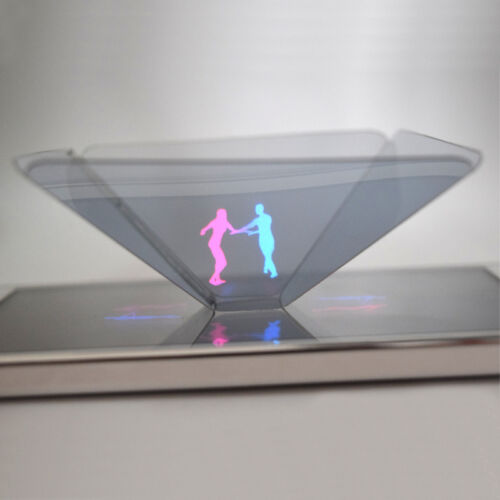 Holographic projector mobile smart phone hologram 3d for for Projector that works with iphone