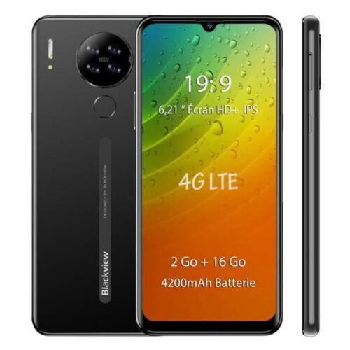 "6,21"" Blackview A80 Smartphone 2GB+16GB Android 10 Go 4200mAh 4G Dual SIM Handy"