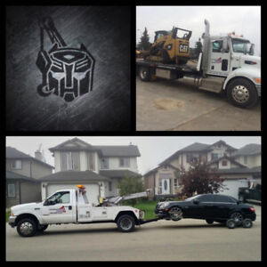 $100 flat rate EDMONTON TOWING 24HR emergency service