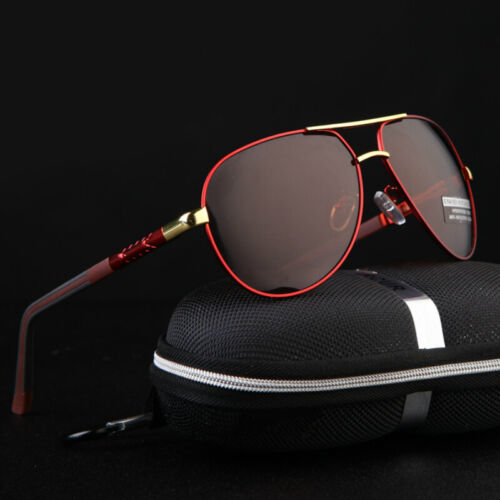 Aluminium HD Polarized Photochromic Sunglasses Pilot Men Driving Glasses Eyewear