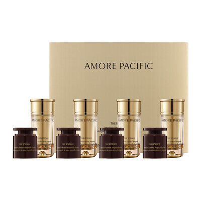 Amorepacific TIME RESPONSE Intensive Renewal Ampoule 4weeks Anti-aging K-beauty