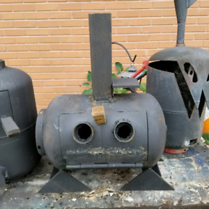 Recycled woodstoves