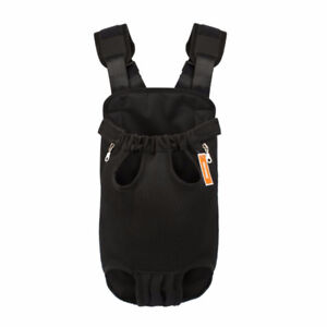 NICREW Legs Out Front Facing Dog Carrier, Hands Free Pet