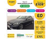 Mercedes-Benz C220 FROM £109 PER WEEK!
