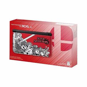 3DS XL Super Smash Bros Red