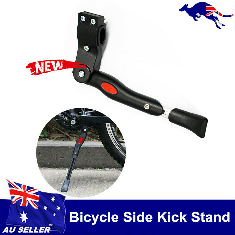 Bike Kick Stand Adjustable Bicycle Prop Side Rear Stand suit