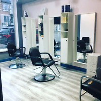 Coiffeuse location 100$ semaine
