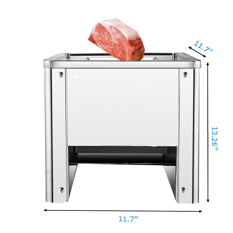 110V 2 Mm Blade Desktop Meat Slicing Shredding Cutting Machine 550W 1400r/min - $275.41