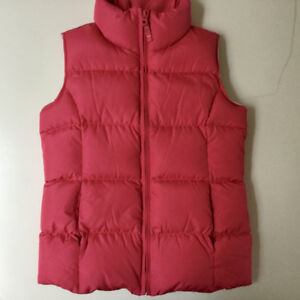 Land's End Girl's Pink Down Vest - Like New