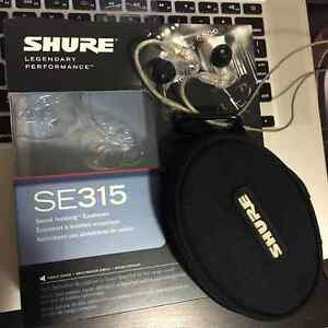 Shure 315 earphone in mint condition