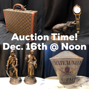Online Auction Dec. 16th Fine antiques, estate jewelry and more