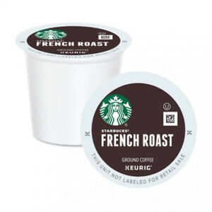 Starbucks® French Roast K Cup for Keurig. Box 96.