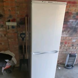 Grade b hotpoint 6ft fridge freezer can deliver