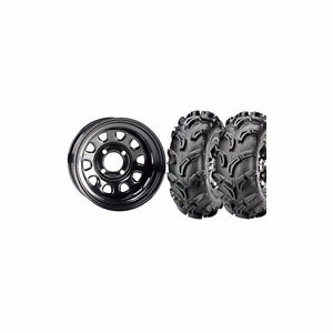 Kit 4 Maxxis Zilla and 4 rims ITP - NEW - FREE SHIPPING