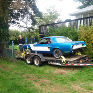 67 Mustang coupe to fastback conversion project