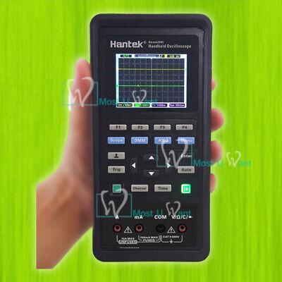3in1 Handheld Usb Digital Oscilloscope Signal Source Multimeter 40mhz2ch Dmm Lcd