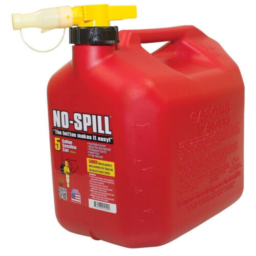 765-104 No-Spill 5 Gallon Fuel Can Free Shipping