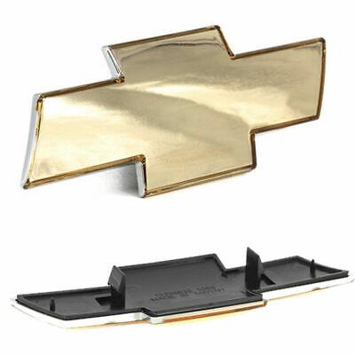 Front Grill Gold Grille Bowtie Emblem Fits Chevrolet Silverado 1500 2500 HD 3500