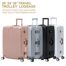 "20/24/28"" Luggage Travel Set with 4 Wheels Bag Trolley Case Carry On Suitcase"