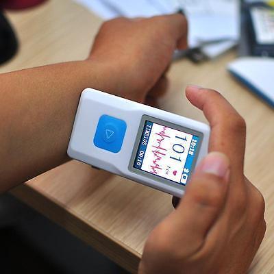 Pm10 Portable Mini Ecg Ekg Machine Heart Beat Monitor Usb Bluetooth 2018 Fda
