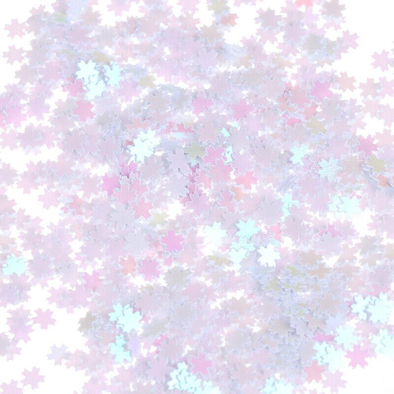 Sakura Glitter Sequins Confetti DIY Craft Stuff Sweet Cherry Blossom Decor