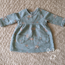 0-3m winter dress