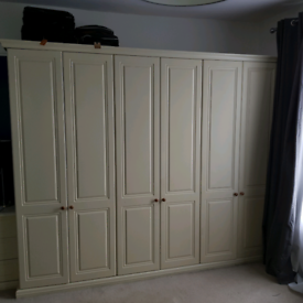 Wardrobes - used made to measure for sale