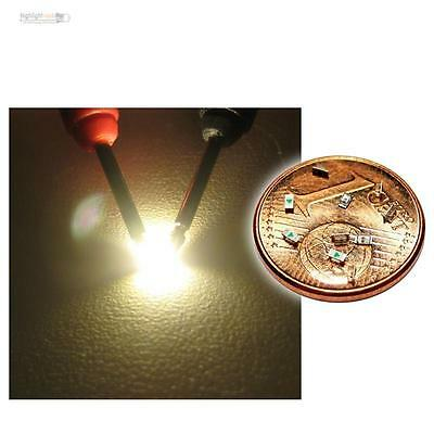 50 WARMWEIßE Leds 4,8mm warm-weiß Leuchtdioden 120° Abstrahlwinkel Modellbau Lok