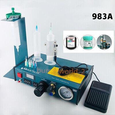 983a Glue Dispenser Solder Paste Liquid Controller Glue Dropper Fluid Dispenser