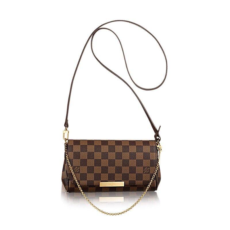 6d8d87633c9 Louis Vuitton Favorite MM Pouchette Neverfull Designer Womens Handbag  Speedy Purse Wallet Pouch