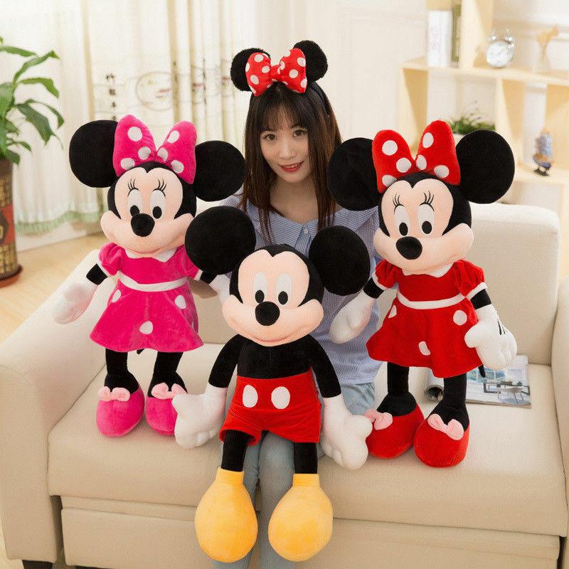 Hot Disney Mickey Maus Minnie Mickey Paare Puppe Plüschtiere Geschenk 35-100cm