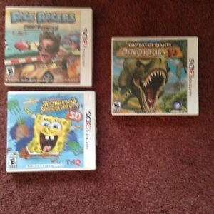 Nintendo 3DS games -$8.00 each