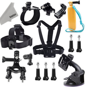 Kupton Accessories for GoPro Hero 5/ Hero 5 Session Head Strap +