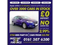 Ford Mondeo Zetec Econetic Tdci 2.0 Manual Diesel BAD / GOOD CREDIT CAR FINANCE