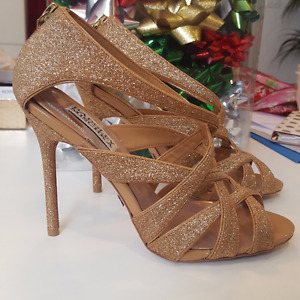 Badgley Mischka Rose Gold Heels - NEVER WORN