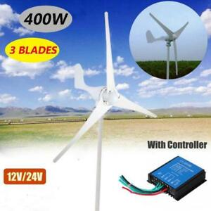 400W-Max-Power-3-Blades-DC-12V-Wind-Turbine-Generator-Kit--Charge-Control