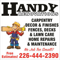 Handy Renovations