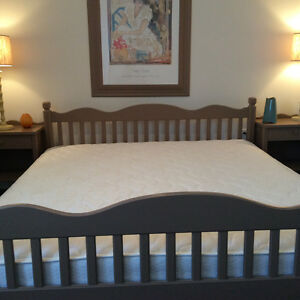 7 pice Bedroom set with a king size mattress