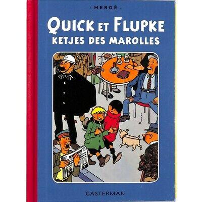 Quick et Flupke - Ketjes des Marolles. TL 500 ex. num. + Signet.