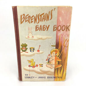 Berenstains Baby Book Stan & Jan Vintage 1951 1st Edition First