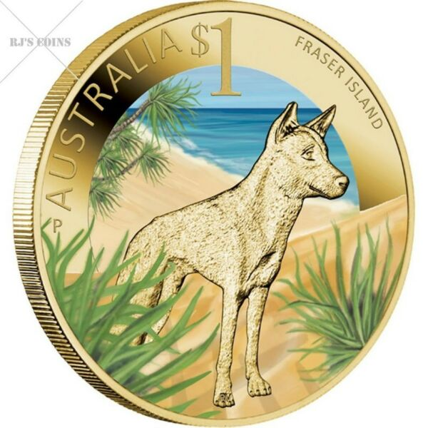 CELEBRATE AUSTRALIA-WORLD HERITAGE SITES 2012 FIVE $1 BASE METAL COIN COLLECTION FROM THE PERTH MINT