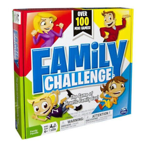 FAMILY CHALLENGE BOARD GAME AT TEDDY N ME