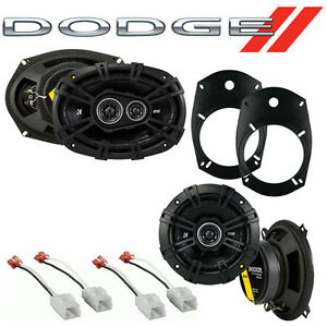 Fit Dodge Ram Truck 1500 2002-2008 Factory Speaker Replacement Kicker DS Package