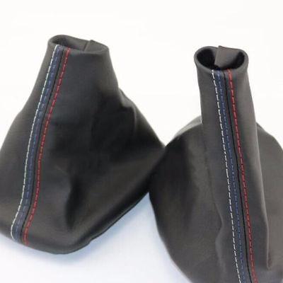 1XCar Gear Shifter Shift Knob Gear Gaiter Boot Cover For BMW E46 3 Series E36 M3 E36 Shifter Knob