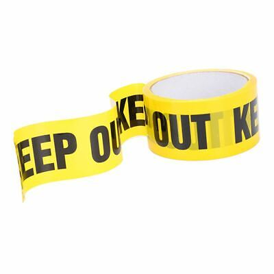 Keep Out Barricades Tape 25 M Construction Site Packing To Secure Place Pic B8s3