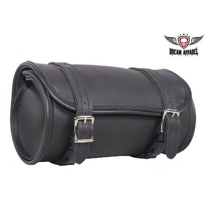 "12"" Plain Black Motorcycle Tool Bag - free shipping for sale  Monroe"