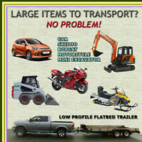 WE SPECIALIZE IN TRANSPORTING MID-SIZE EQUIPMENT IN THE METRO AR